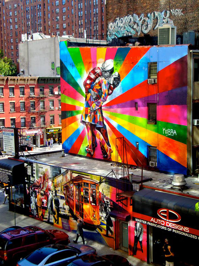 street art portraits by eduardo kobra (2)