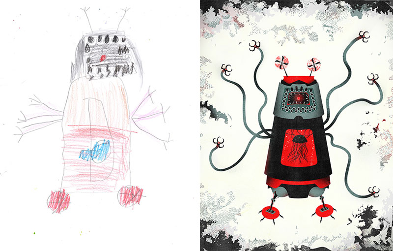 the monster project brings kids drawings to life (1)