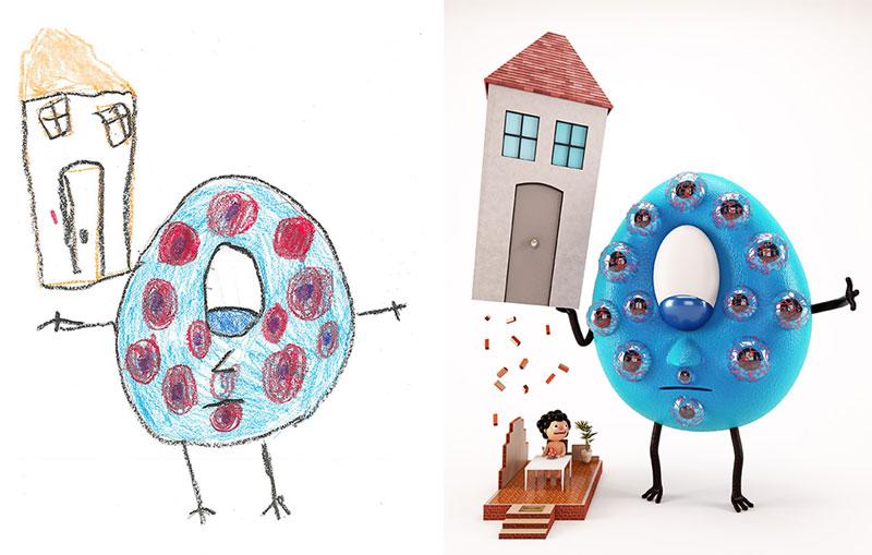 the monster project brings kids drawings to life (13)