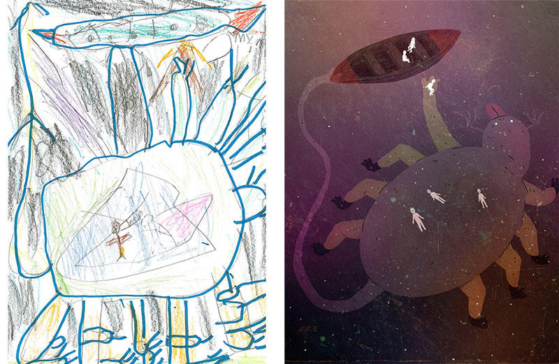 the monster project brings kids drawings to life (15)