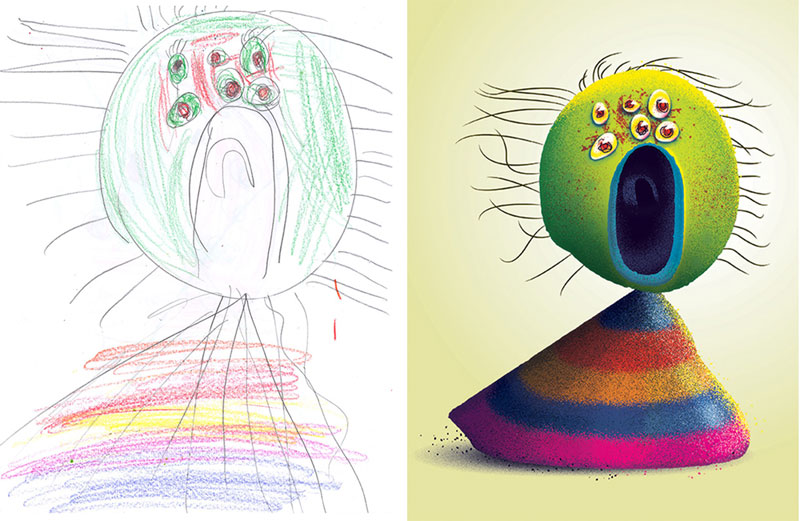 the monster project brings kids drawings to life (2)