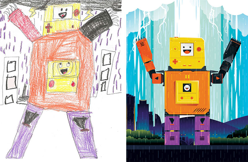 the monster project brings kids drawings to life (20)