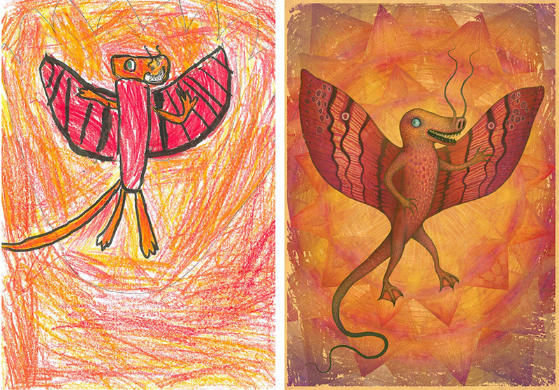 the monster project brings kids drawings to life (21)
