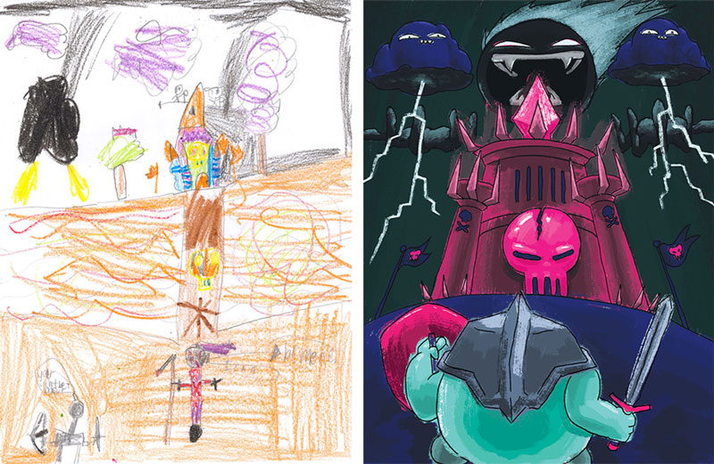 the monster project brings kids drawings to life (29)