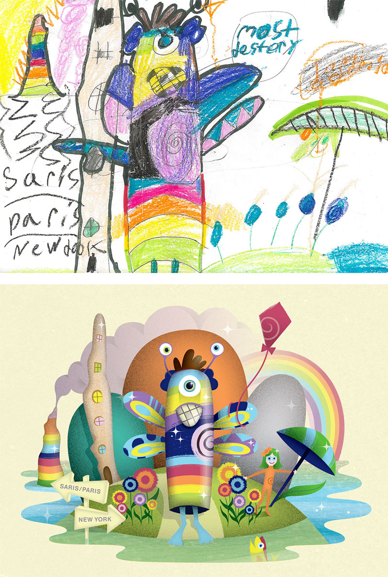 the monster project brings kids drawings to life (3)