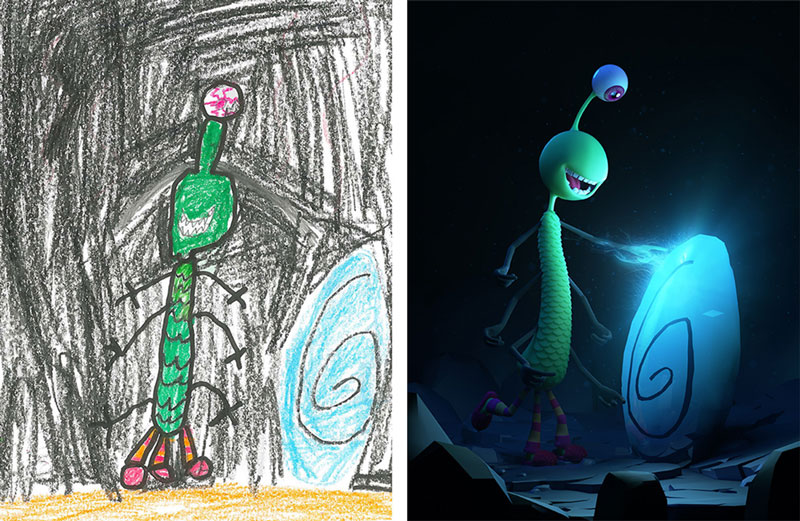 the monster project brings kids drawings to life (31)