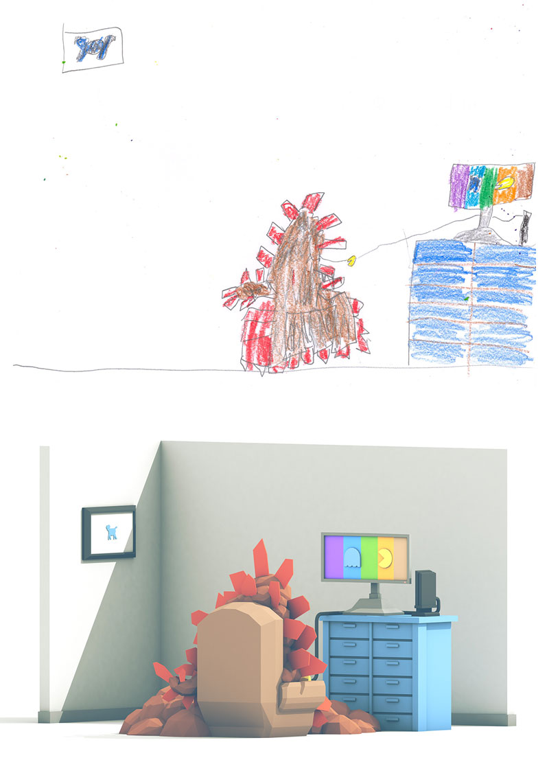 the monster project brings kids drawings to life (7)