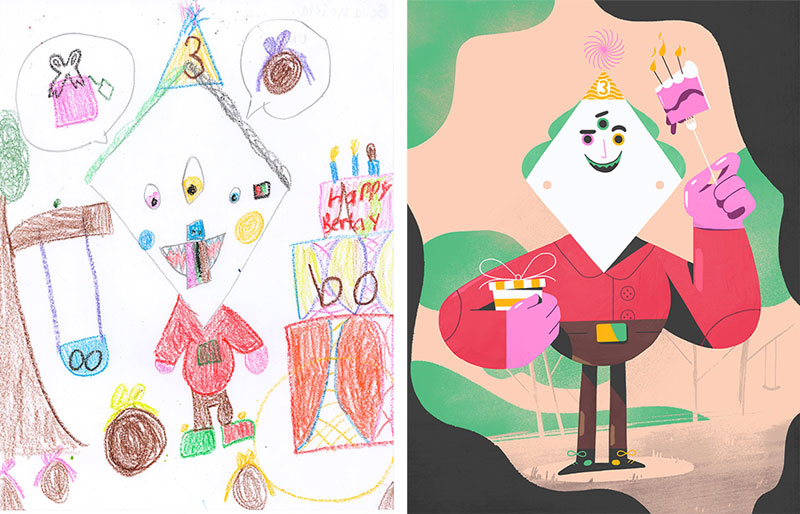 the monster project brings kids drawings to life (9)