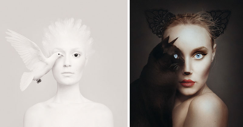 'Animeyed' Self-Portraits by Flora Borsi