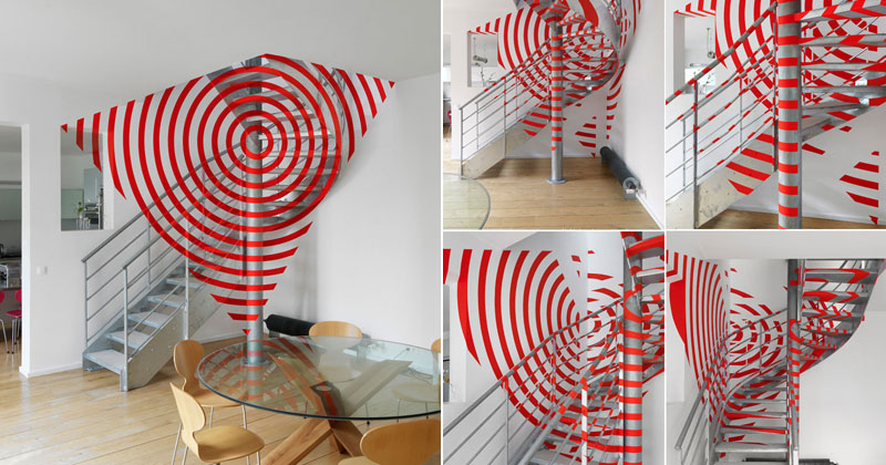 These 3D Shapes Look Superimposed but They're Actually Painted Surfaces