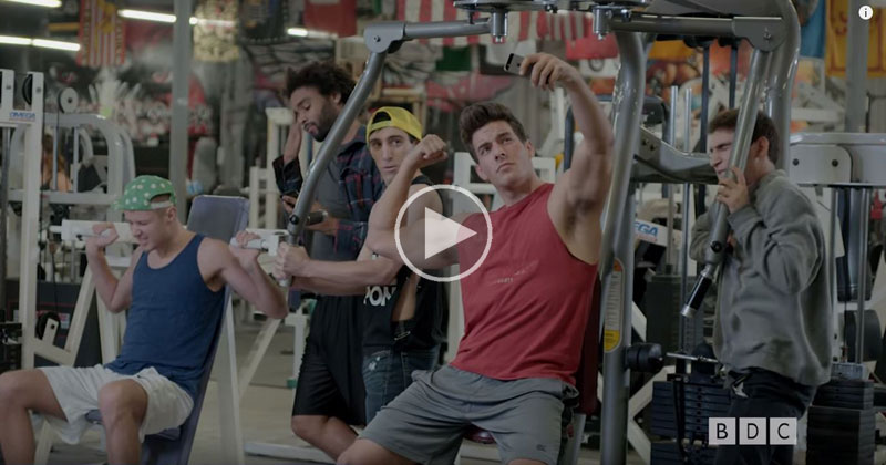 A Mockumentary of Gym Life in the Style of a NatureShow