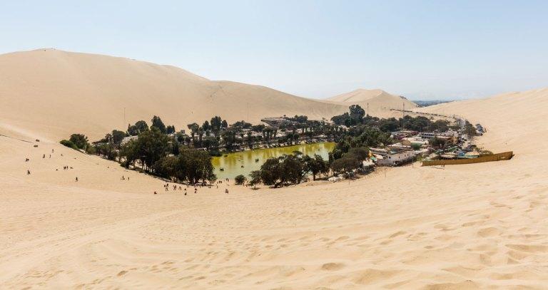 A Desert Oasis in Peru