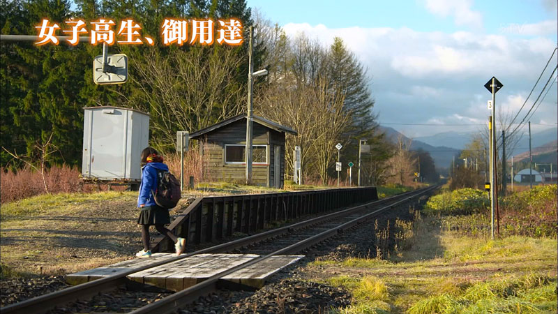 Remote Train Station in Japan Remains Open So Student Can Go to School (3)