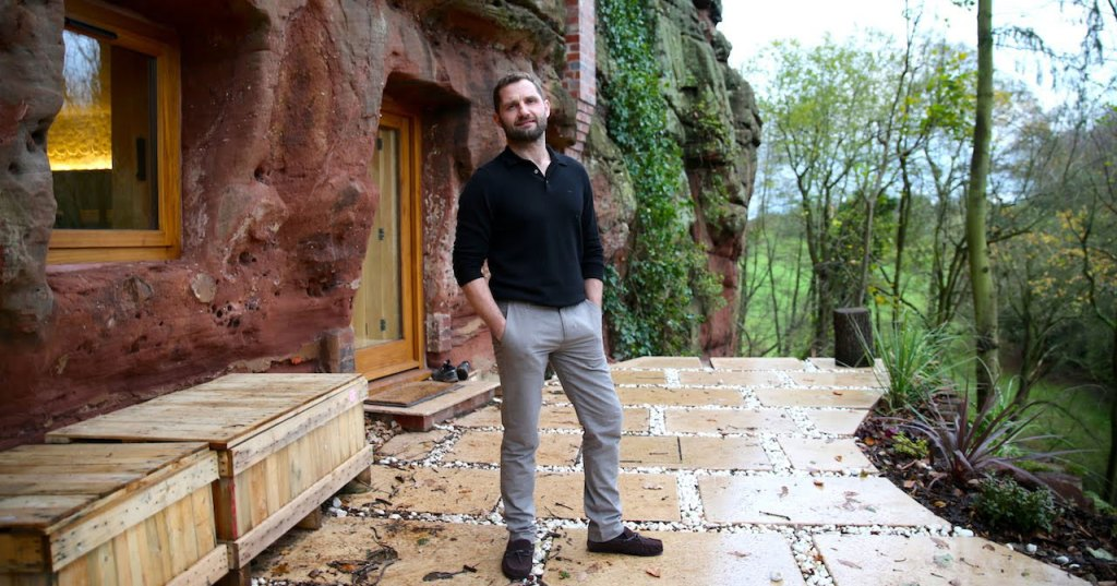 Guy Turns 700 Year Old Abandoned Cave Dwelling Into Vacation Home