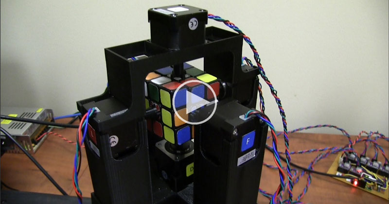 These Guys Just Built the World's Fastest Rubik's Cube Solving Robot
