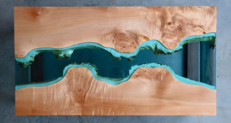 artist gregory klassen wood glass rivers lakes furniture (12)