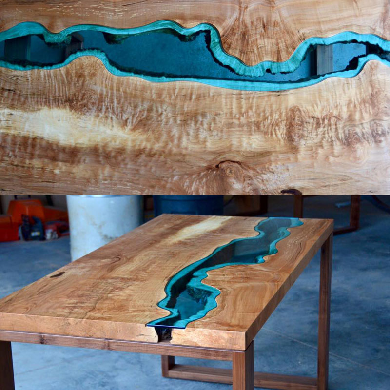 artist gregory klassen wood glass rivers lakes furniture (14)