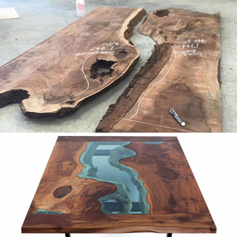 artist gregory klassen wood glass rivers lakes furniture (15)