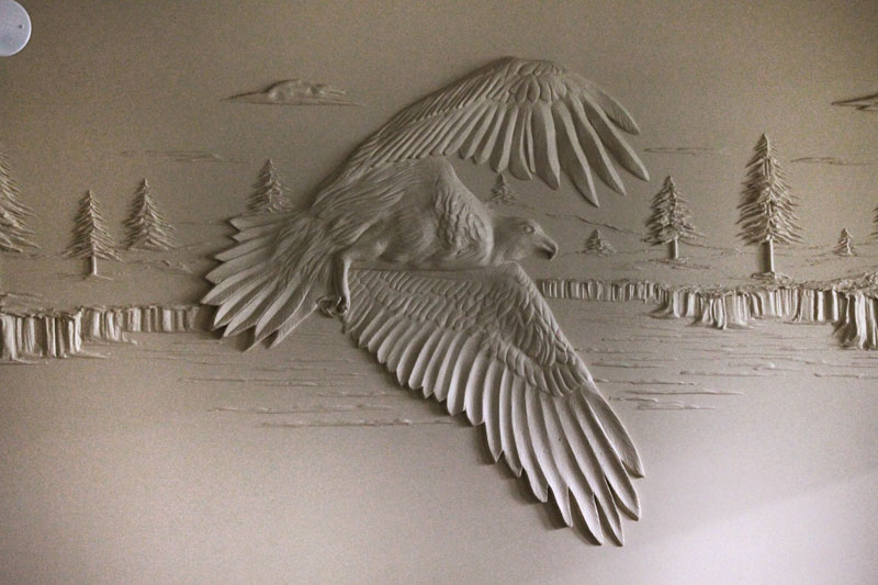berne mitchell turns drywall into art with joint compound (6)