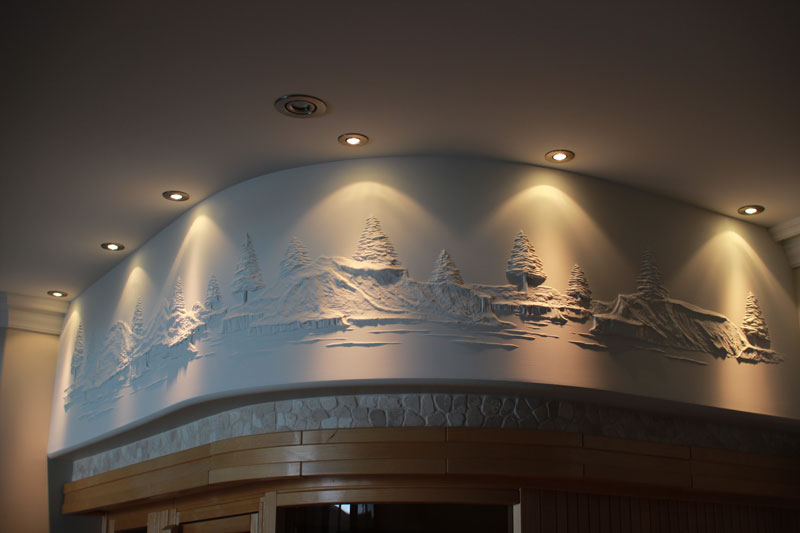 Artist Turns Drywall Into Art With Nothing But Joint