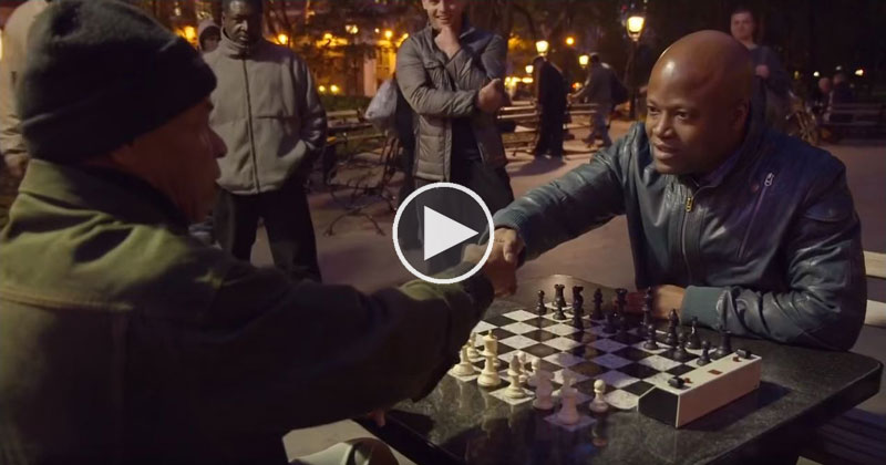 Trash Talking Chess Hustler in New York Unknowingly Challenges a Grandmaster