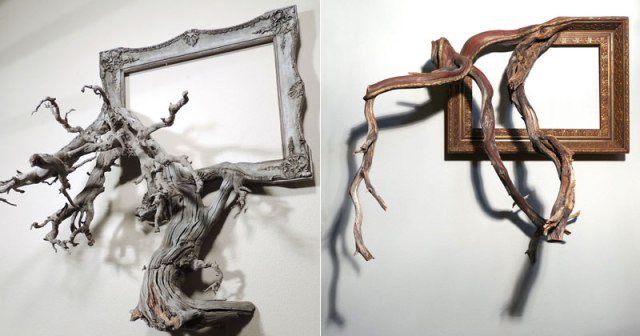Darryl Cox Melds Fallen Branches and Old Frames Into Something New ...