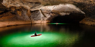 Exploring One of the World's Largest River Caves with a Kayak andDrone