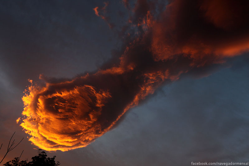 fireball cloud over madeira portugal (2)