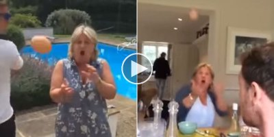 Guy Spends a Year Tossing Eggs To His UnsuspectingMom
