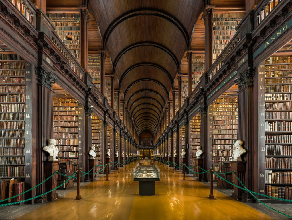 Picture of the Day: The Long Room, Trinity College Library,Dublin
