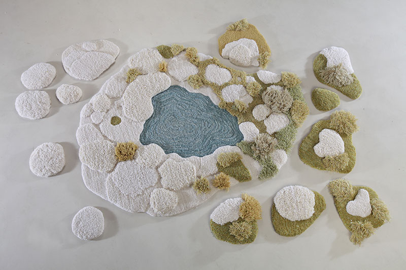 One-of-a-Kind Rugs That Look Like Lush Green Landscapes by alexandra kehayoglou (1)