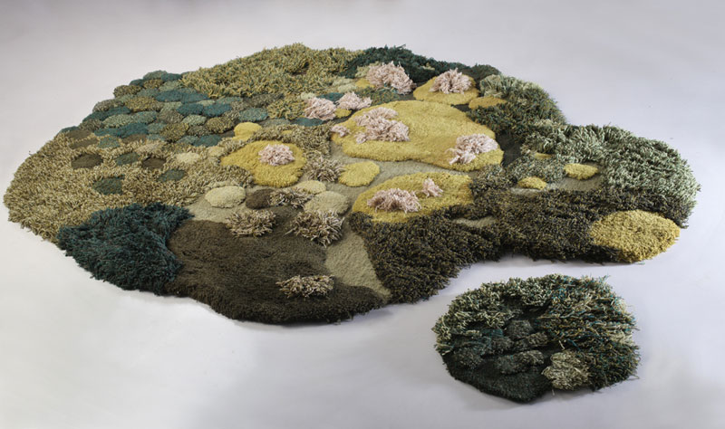 One-of-a-Kind Rugs That Look Like Lush Green Landscapes by alexandra kehayoglou (15)