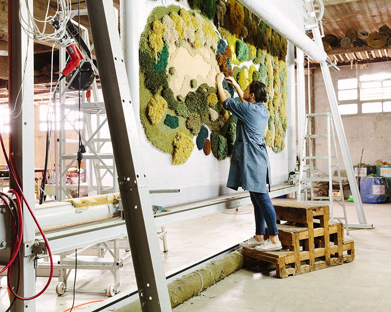One-of-a-Kind Rugs That Look Like Lush Green Landscapes by alexandra kehayoglou (18)