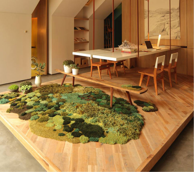 One-of-a-Kind Rugs That Look Like Lush Green Landscapes by alexandra kehayoglou (3)