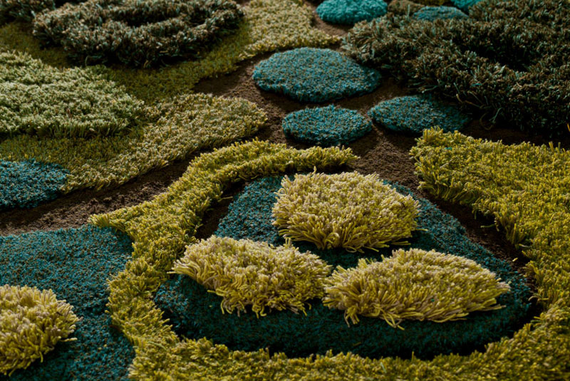 One-of-a-Kind Rugs That Look Like Lush Green Landscapes by alexandra kehayoglou (6)