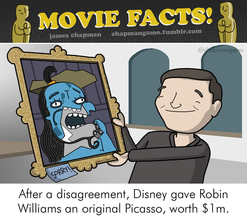 Random Movie Trivia Facts Illustrated by James Chapman (1)