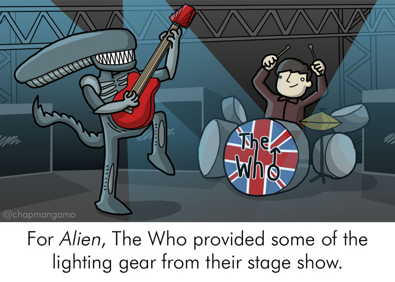 Random Movie Trivia Facts Illustrated by James Chapman (3)