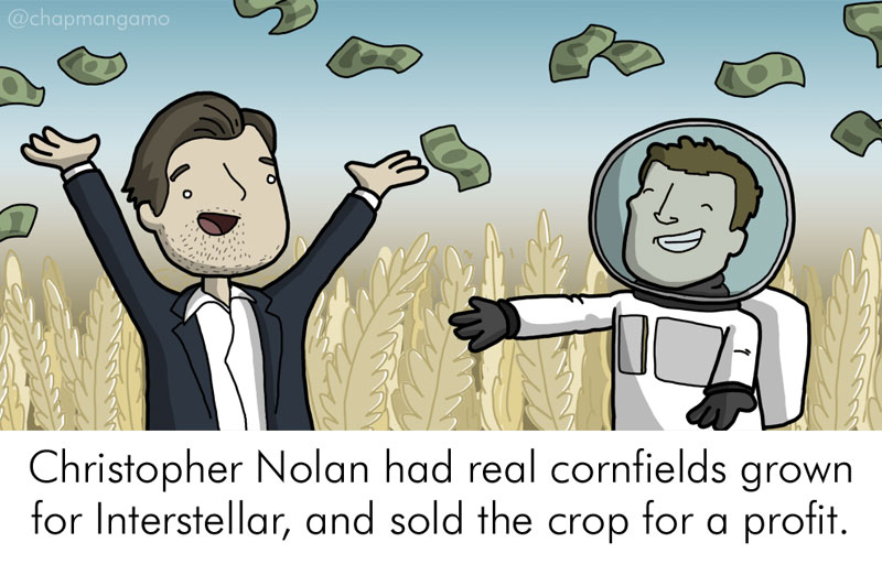 Random Movie Trivia Facts Illustrated by James Chapman (5)