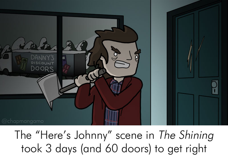 Random Movie Trivia Facts Illustrated by James Chapman (7)