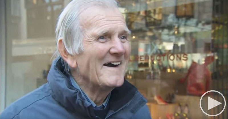 Reporter Asks Random Guy About a Game in 1967, Turns Out He Was the Keeper!