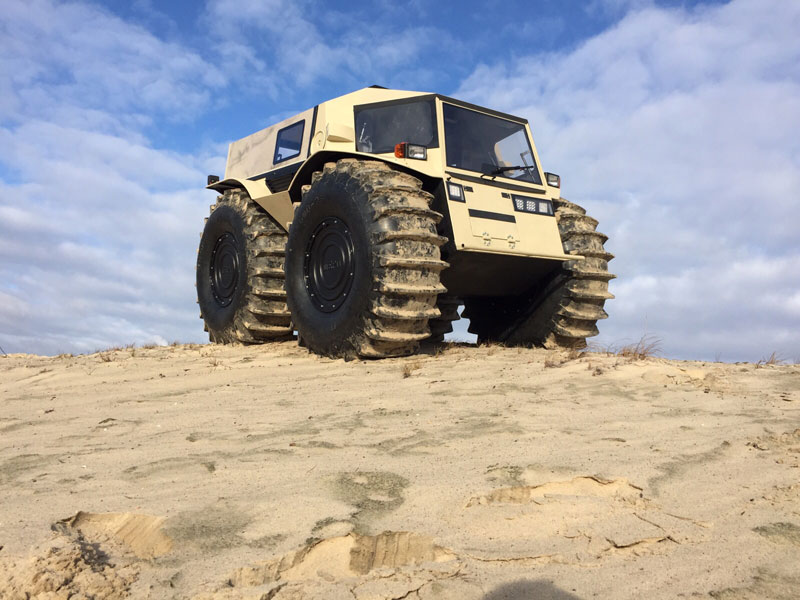 sherp atv russian amphibious truck with monster wheels (3)