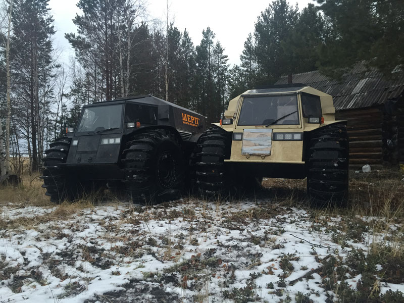 sherp atv russian amphibious truck with monster wheels (7)
