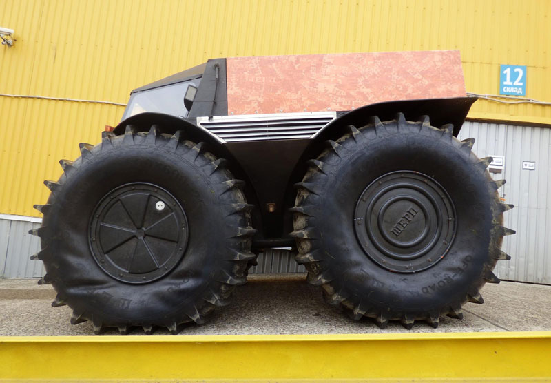 Sherp Atv For Sale >> This Russian-Designed, Amphibious Truck with Self-Inflating Tires Looks Badass «TwistedSifter