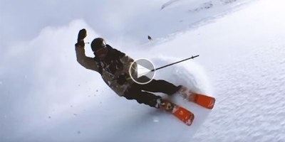 This is What Happens When You Ski Down a Mountain and Swing Your Phone Like a Lasso