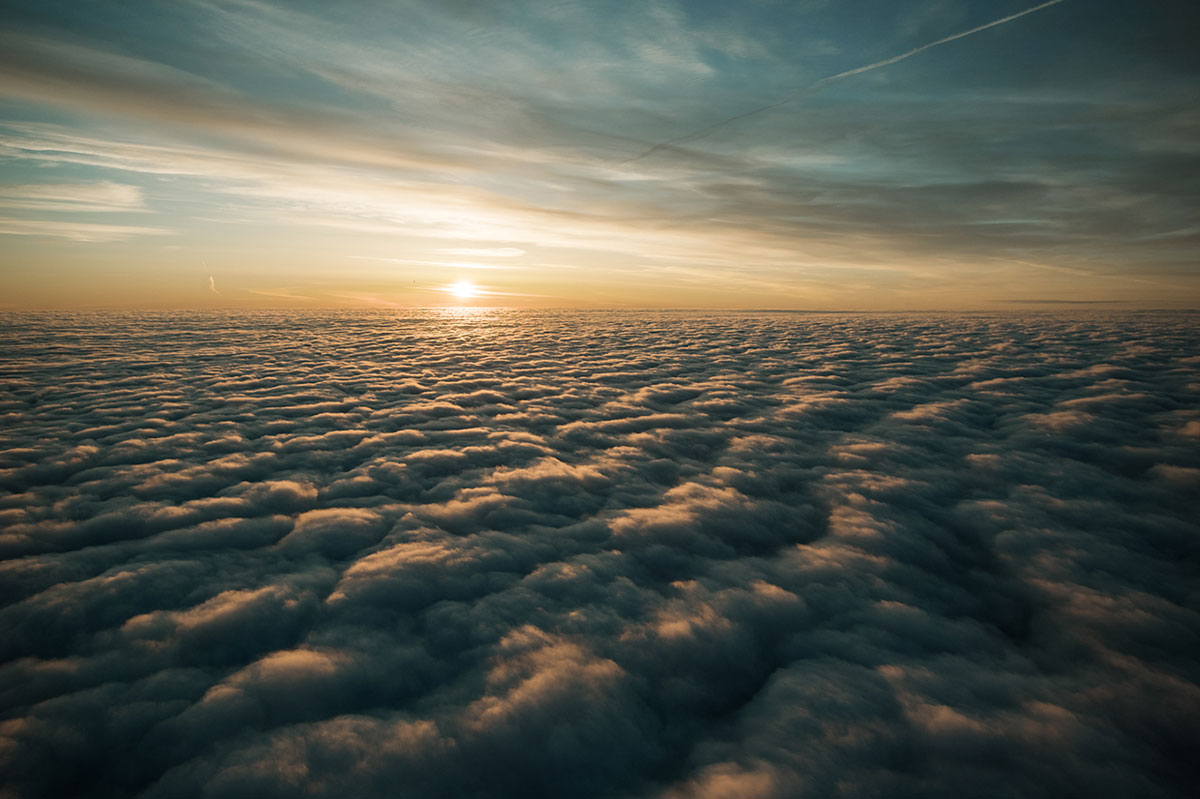 sun above the clouds jakob wagner Picture of the Day: As Far as the Eye Can See