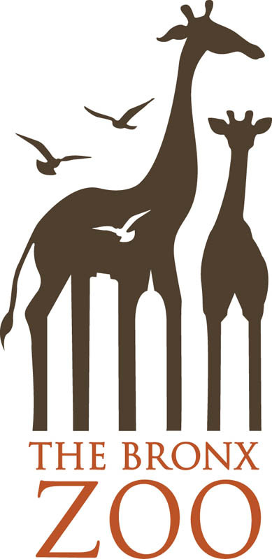 the bronx zoo logo large 15 Logos That Found a Creative Use for Negative Space