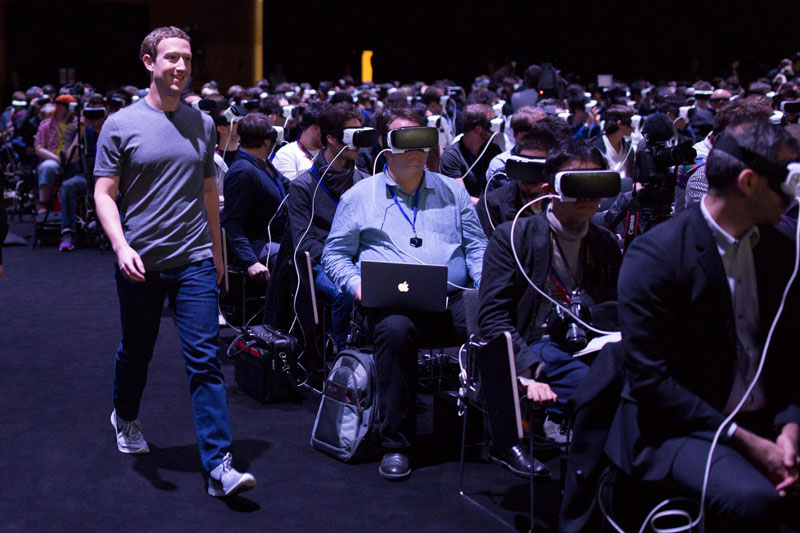 zuckerberg vr smiling Picture of the Day: I For One Welcome Our New...