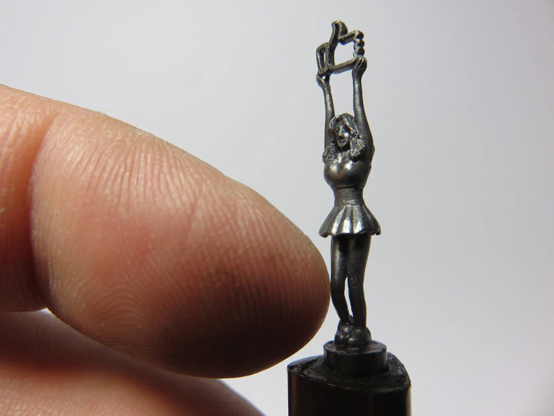 alphabet carved into mechanical pencil lead by chien chu lee (7)