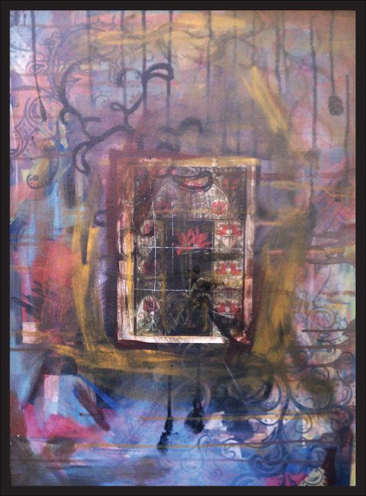 artist alana ciena tillman paints with her mouth (2)