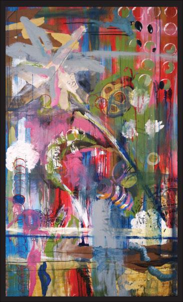 artist alana ciena tillman paints with her mouth (3)